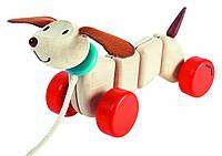 Каталка Счастливый щенок Plan Тoys (5101)