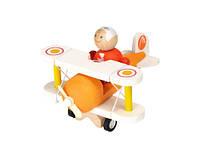 """Деревянная игрушка """"Классический самолёт"""", PlanToys"""