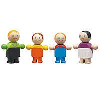 """Деревянная игрушка """"Обычная семья"""", PlanToys"""