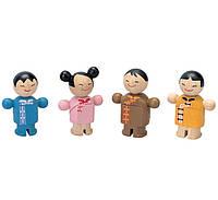 """Деревянная игрушка """"Городская  семья"""", PlanToys"""