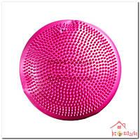 Балансировочная подушка розовая