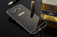 Бампер для Samsung G7102 Galaxy Grand 2 Duos+зеркальная задняя крышка
