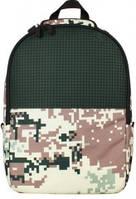 Рюкзак для подростков Upixel Camouflage, цвет зелено-коричневый