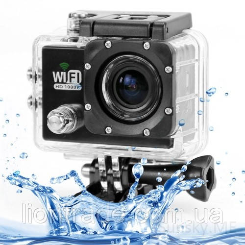 Экшн камера SJ 6000 Full HD 1080P WiFi Lcd 2.0 Waterproof