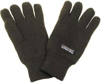 Перчатки акриловые, утеплитель