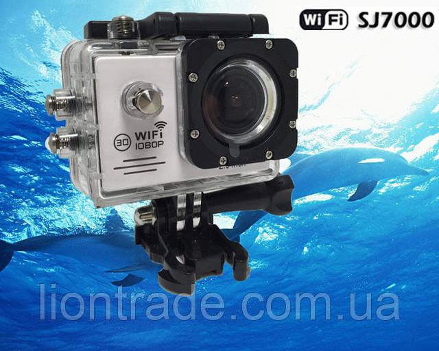 Экшн камера SJ7000 Wifi 2.0 1080P FullHd