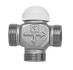 "Триходовий термостатичний клапан 3/4"" ATATÜRK-TS HERZ"