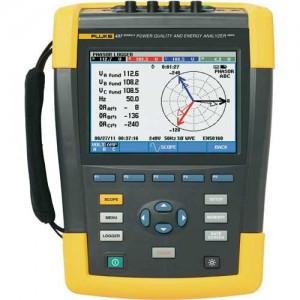 Fluke 437-II анализатор электроэнергии - «IPS» — контрольно измерительные приборы: газоанализаторы, тепловизоры, мультиметры, осциллографы в Одессе