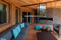 Терраса - оформление деревянными материалами