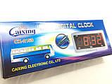 Електронні настільні годинники Caixing CX-2159, фото 2