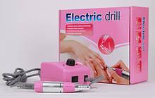Фрезерная машинка для маникюра и педикюра Electric drill JD2500 (25000 об./мин) CVL /54
