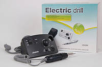 Фрезерная машинка для маникюра и педикюра Electric drill JD4500 черный (30000 об./мин) CVL /0-06