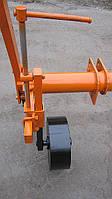 Гвинтовий механізм і опорне колесо - Плуг викопочний навісний ВПН-2
