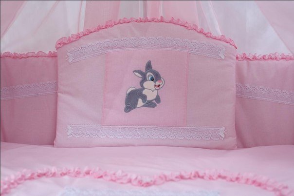 Защита постельки «Зайка/Кролик»