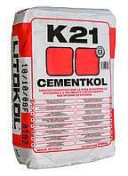 Клей для плитки Litokol K21(литокол к21) 25 кг  на цементной основе