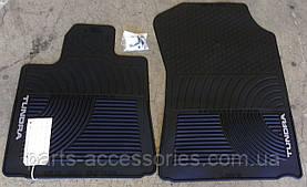 Передні гумові килимки Toyota Tundra 2007-11 нові оригінал