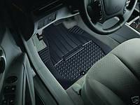 Передние резиновые коврики Hyundai Santa Fe 2007-09 новые оригинал
