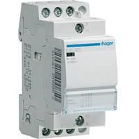 Контактор пускатель Hager ESC425, 25A, 230В, 4НО