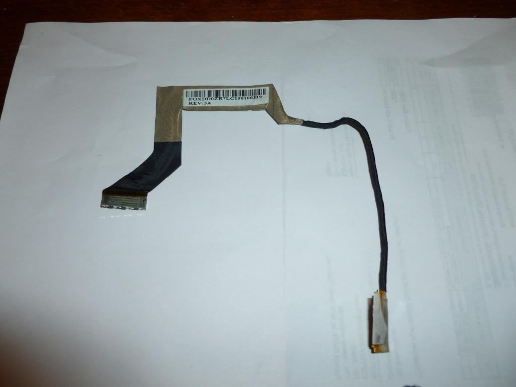 Шлейф матрицы ноутбука Acer Aspire One ZG8 531H Lcd Cable DD0ZG8LC000