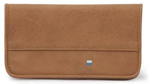 """Элегантный женский чехол-клатч для гаджета 5"""" Golla Air Wallet Fudge G1623 коричневый"""