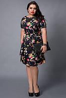 Эфэктное платье большого размера