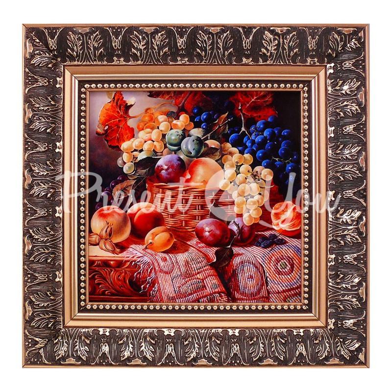 Картина худ. В. Галкина «Натюрморт», 32х32, 19х19 см.