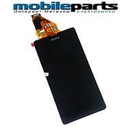 Оригинальный Дисплей (Модуль)+Сенсор (Тачскрин) для  Sony C5502 | C5503 | M36h | Xperia ZR (Черный)