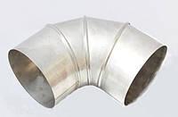 Колено для дымохода нерж. 90°, диаметр 200 мм