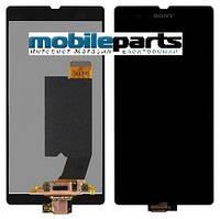 Оригинальный Дисплей (Модуль) + Сенсор (Тачскрин) для Sony C6602 | C6603 | C6606 | L36h | Xperia Z (Черный)