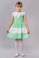 Салатовое платье для девочки