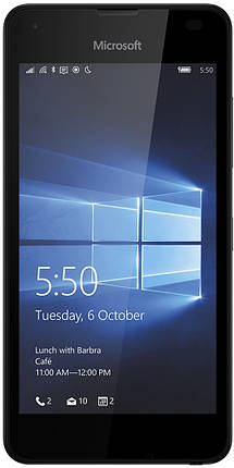 Мобильный телефон Microsoft Lumia 550 Black, фото 2
