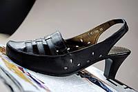 Босоножки женские черные