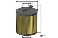 Масляный фильтр Misfat на Citroen Berlingo