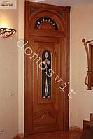 Двери из массива-дизайн разработка