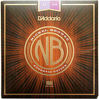 Струны D'Addario NB1152 Nickel Bronze Custom Light 11-52