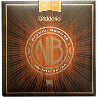 Струны D'Addario NB1256 Nickel Bronze Light Top/Medium Bottom 12-56