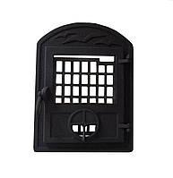 Чугунная каминная дверца - VVK 35x46см-27x33см