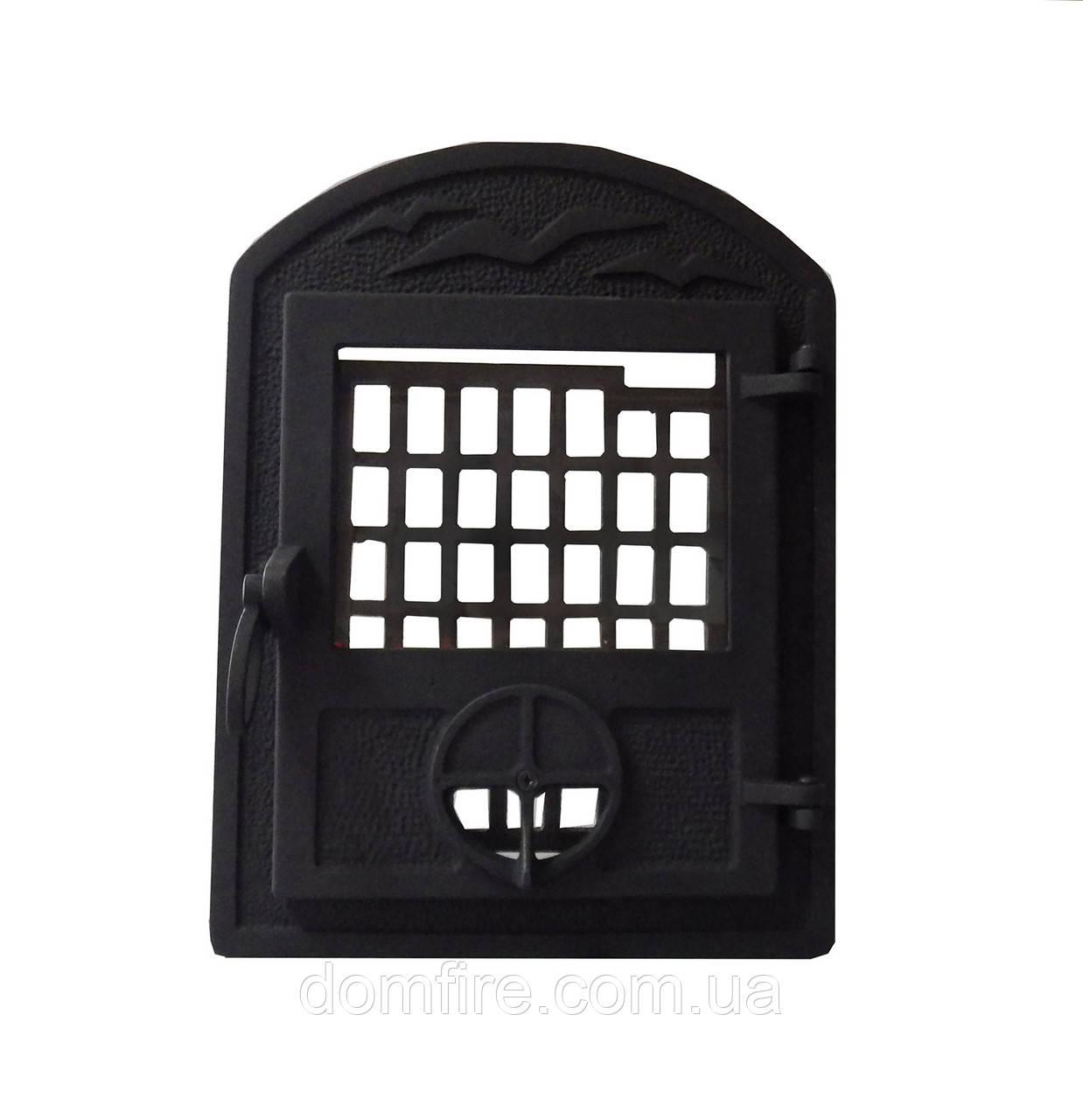 Чугунная каминная дверца - VVK 35x46см-27x33см - Domfire - тепло в Вашем доме в Ужгороде