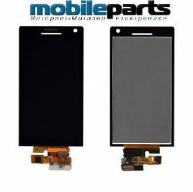 Оригинальный Дисплей (Модуль)+Сенсор (Тачскрин) для Sony LT26i | Xperia S (Черный)