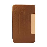 """Чехол-подставка для Samsung Galaxy Tab 4 7.0"""" T230/T231/T235, коричневый"""