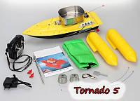 Кораблик для завоза прикормки рыбы Tornado 5