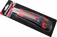 Нож Бригадир упрочненный в обрезиненном корпусе 18 мм (78-003)