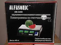 Весы Торговые ALFASONIC AC-40 до 40 кг, фото 1