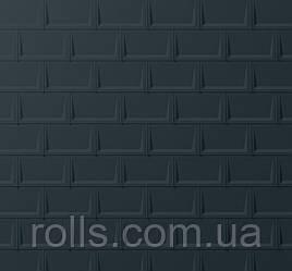 Покрівельний лист PREFA R. 16. Колір ANTHRAZIT RAL7016 (темно-сірий)