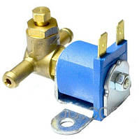 Электромагнитный клапан бензина Torelli малый , вход D6 мм, выход D6 мм, (пластик. штуцер)