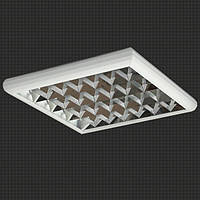 Светодиодный потолочный светильник LED-SU-24-19-О-96-X с зеркальной решеткой