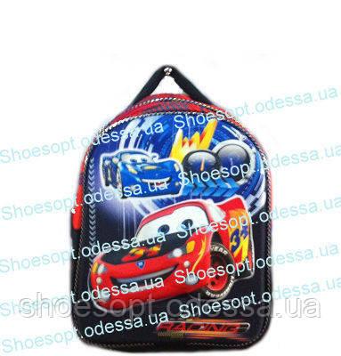 a10a5e7245b4 Рюкзак 3D Тачки Маквин с ортопедической спинкой + сумка для мальчика пр-во  Турция
