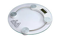 Весы Напольные 2003А Круглые Стеклянные До 150 кг, фото 1