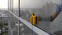 Щетка магнитная для двухстороннего мытья стекол Cleaning Double Side Glass Cleaner