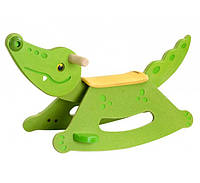 Деревянная качалка Plan Тoys - Крокодил